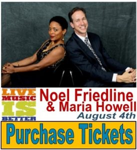 Noel Friedline and Maria Howell Jazz Concert